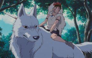 もののけ姫と山イヌ